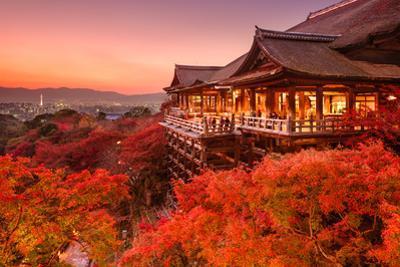 Kyoto, Japan at Kiyomizu-Dera Temple. by SeanPavonePhoto