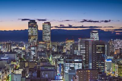Nagoya, Japan Cityscape at Twilight. by SeanPavonePhoto