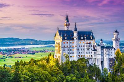 Neuschwanstein Castle in Germany. by SeanPavonePhoto