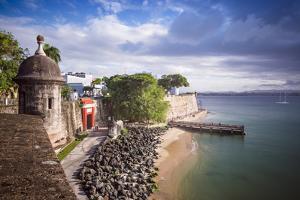 San Juan, Puerto Rico Coast. by SeanPavonePhoto