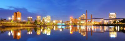 Skyline of Birmingham, Alabama from Railroad Park. by SeanPavonePhoto