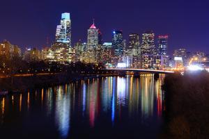 Skyline of Downtown Philadelphia, Pennsylvania. by SeanPavonePhoto