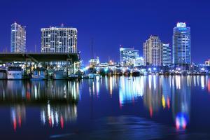 Skyline of St. Petersburg, Florida by SeanPavonePhoto