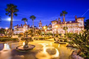 St. Augustine, Florida, Usa. by SeanPavonePhoto