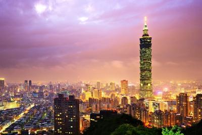 Taiwan Cityscape by SeanPavonePhoto