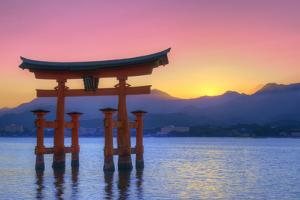 The Floating Otorii Gate at Miyajima, Japan. by SeanPavonePhoto