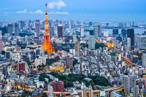 Tokyo Tower in Tokyo, Japan by SeanPavonePhoto