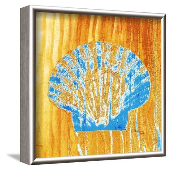 Seashell Surface--Framed Art Print