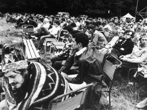 Seated Hippies 1967