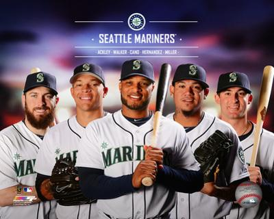Seattle Mariners 2014 Team Composite