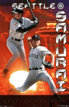 Seattle Mariners Ichiro Suzuki Seattle Samurai