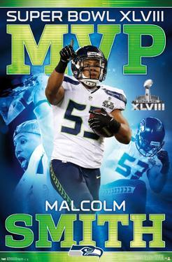 Seattle Seahawks Malcolm Smith Super Bowl XLVIII MVP