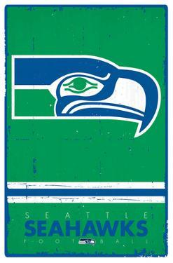 Seattle Seahawks - Retro Logo 15