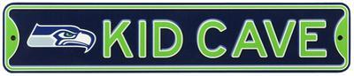 Seattle Seahawks Steel Kid Cave Sign
