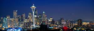 Seattle Skyline with Space Needle, Washington State, USA