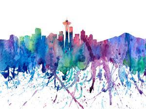 Seattle Washington by M Bleichner