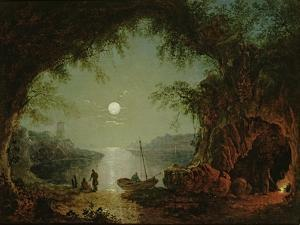 A Moonlit Cove by Sebastian Pether