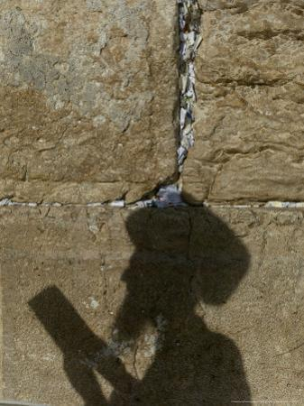Praying at the Western Wall on Shavuot, Jerusalem, Israel