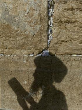 Praying at the Western Wall on Shavuot, Jerusalem, Israel by Sebastian Scheiner