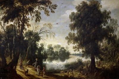 Lagoon Landscape, 17th century,