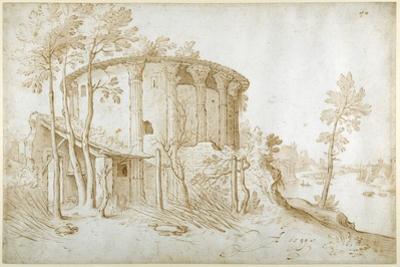 The Temple of Vesta in the Forum Boarium