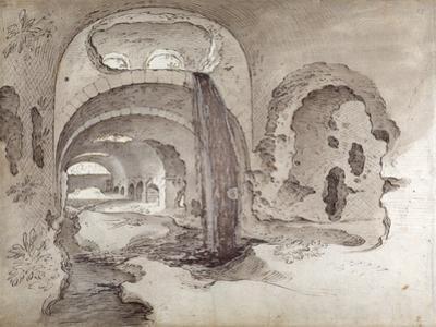 Tivoli, Cryptoporticus under the Temple of Hercules Victor