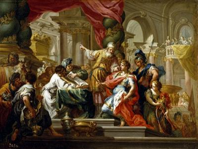 Alexander the Great in the Temple of Jerusalem, 1736 by Sebastiano Conca