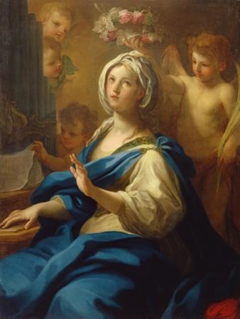 St. Cecilia by Sebastiano Conca