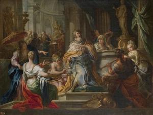 The Idolatry of King Solomon by Sebastiano Conca