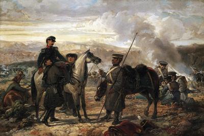 Giuseppe Landriani Wounded at Balaclava, October 1854