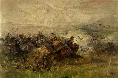 The Charge of Villafranca, June 24, 1866