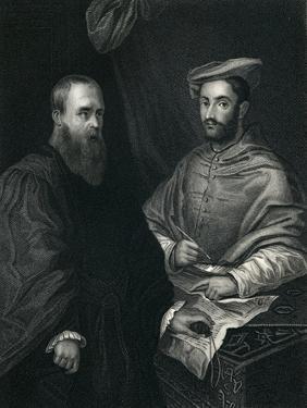 Cardinal Hippolito De Medici and Sebastiano Del Piombo by Sebastiano del Piombo