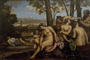 Death of Adonis, 1512 by Sebastiano del Piombo