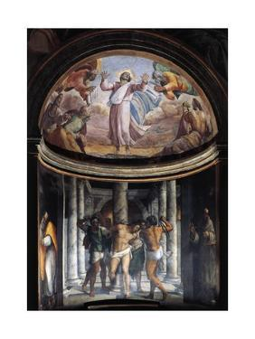 Flagellation of Jesus and Ascension, 1517-1524 by Sebastiano del Piombo