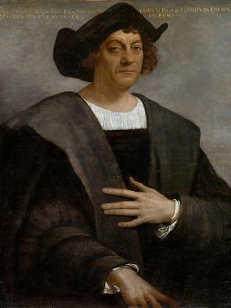 Portrait of a Man, Said to be Christopher Columbus (c.1446-1506), 1519