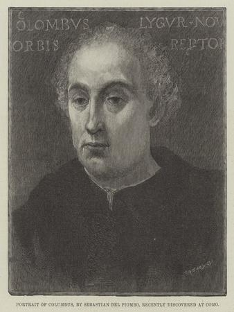 Portrait of Columbus, Recently Discovered at Como