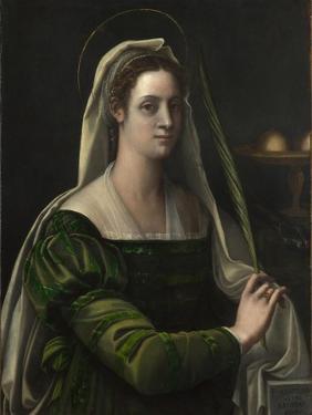Saint Agatha, C.1540 by Sebastiano del Piombo