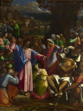 The Raising of Lazarus, Ca 1518 by Sebastiano del Piombo