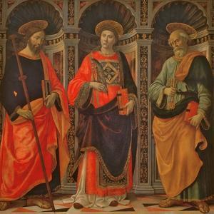 St. James, St. Stephen and St. Peter by Sebastiano Minardi