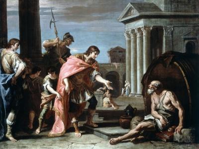 Alexander and Diogenes, Late 17th-Early 18th Century