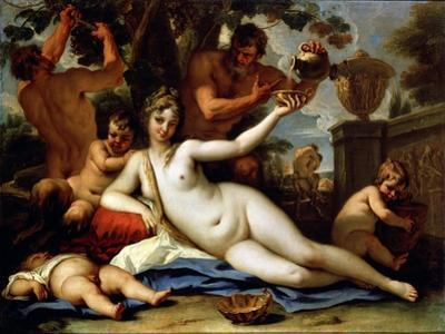 Bacchante and Satyrs, C1713