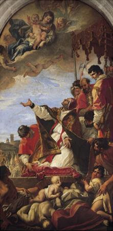 Intercession of Our Lady by Pope Gregory the Great, 1699