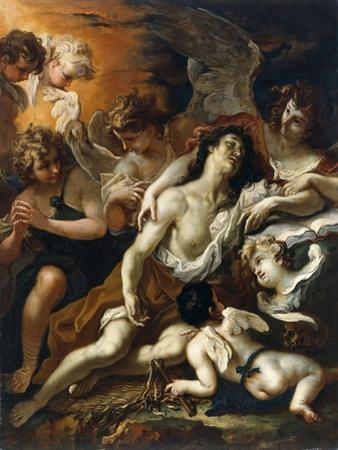 Saint Mary Magdalen Surrounded by Angels