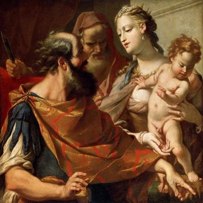The Child Moses Trampling on the Pharaoh's Crown, C1685-C1687