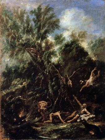The Temptation of Saint Anthony, C1706-C1707