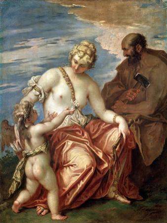 Venus, Vulcan and Cupid, 1700S