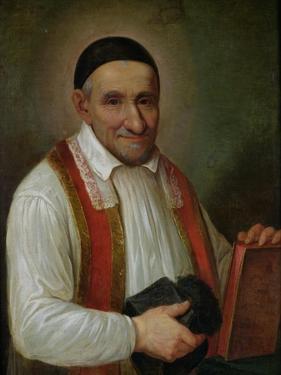 St. Vincent De Paul (1581-1660) 1649 by Sebastien Bourdon