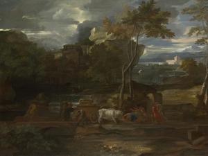 The Return of the Ark, 1659 by Sébastien Bourdon