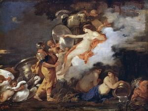 Venus and Aeneas, 17th Century by Sébastien Bourdon