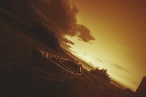 Boat, Sunrise, Sunset by Sebastien Lory